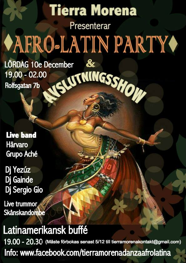 Afro-Latin Party Tryckeriet