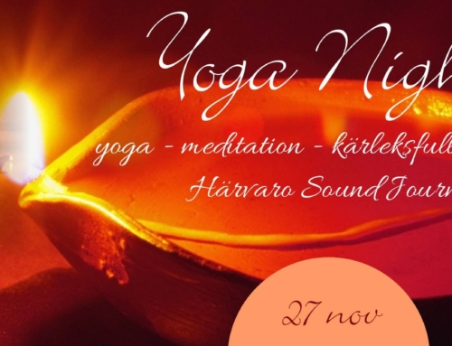 27 Nov 18:00-21:00 – Yoga Night – with Härvaro Sound Journey